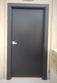 Hollow metal door and Frame exterior